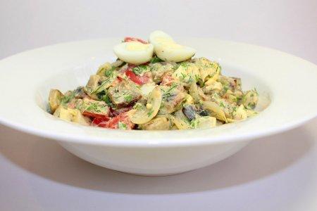«Баклажановый» салат