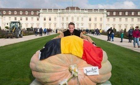Бельгийский садовод вырастил самую большую тыкву в мире