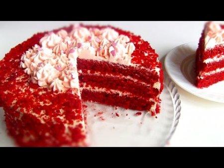 """Торт """"Красный Бархат"""" – """"Red Velvet Cake"""""""