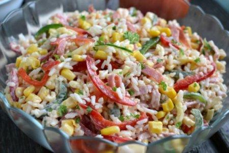 Венгерский рисовый салат