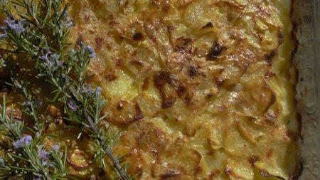 Картофель по-французски в духовке