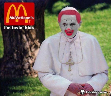 В Ватикане открыли третий ресторан McDonald's