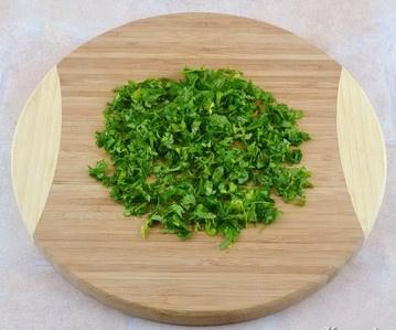 Салат из фасоли с луком