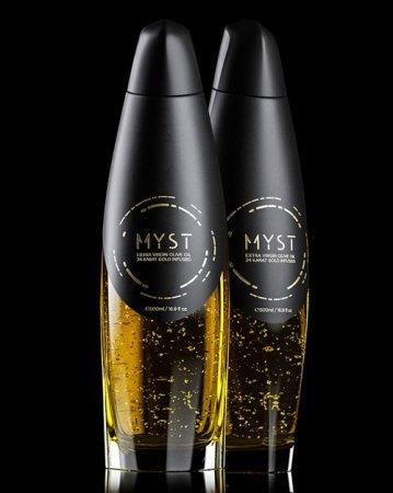 Греческая компания Myst выпустила «золотое» оливковое масло