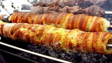 Рецепт чешских булочек трдло на мангале и шашлык