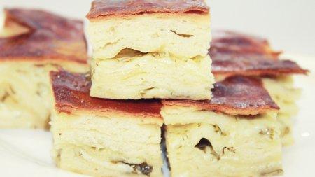 Погача с сыром - воздушный хлеб с сыром и зеленью