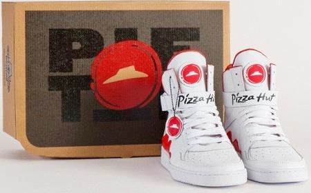 Пиццу можно будет заказать с помощью кроссовок