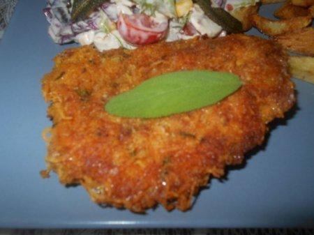 Курица в сырной панировке