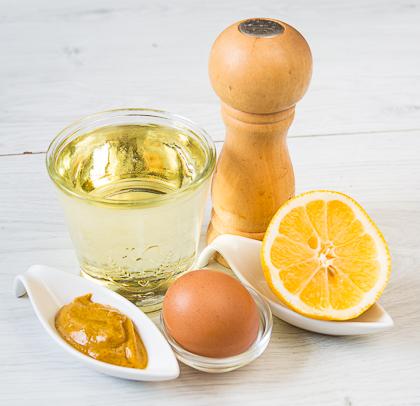 Домашний майонез на целом яйце