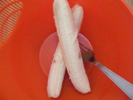 Банановые оладьи с овсянкой