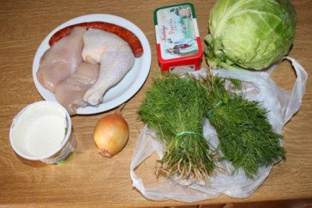 Куриные тефтели с молодой капустой