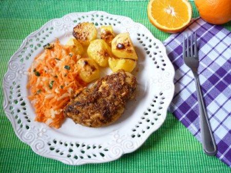 Куриное филе в апельсиновом соке