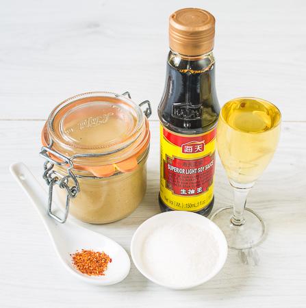 Азиатский кунжутный соус