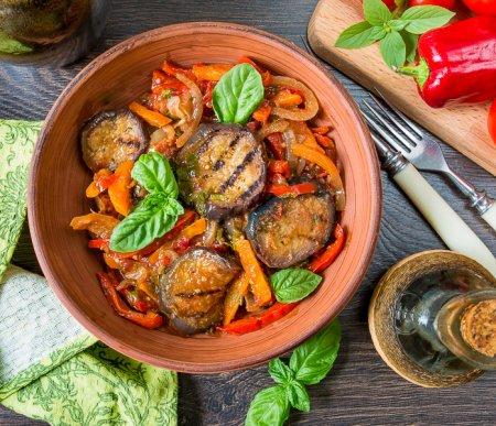 Аджапсандали – грузинская закуска из баклажанов