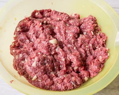 Рулетики из баклажана с мясом