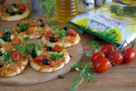 Овощные мини-пиццы