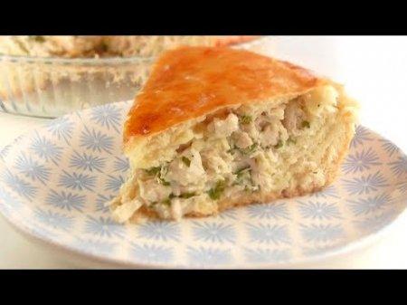 Сочный куриный пирог