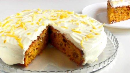 Морковно - лимонный пирог
