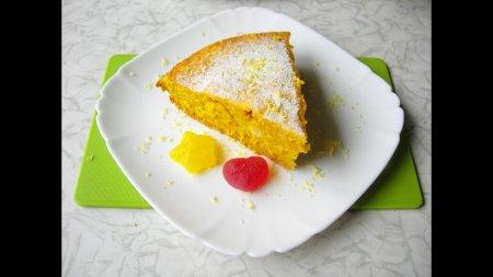 Тыквенный пирог с цитрусовым вкусом
