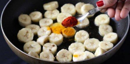 Бананы с карри