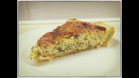 Сырный пирог с зеленью - вкуснейший пирог с сыром и зеленью