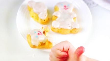 Кексики в формах мишки