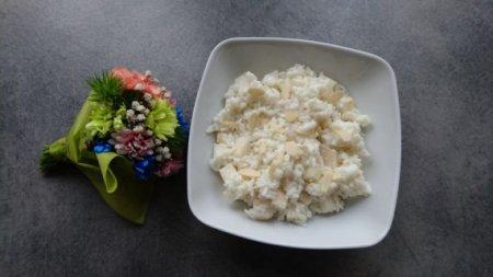 Рисовая каша с грушами