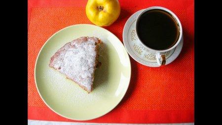Очень простой и вкусный рецепт айвового пирога
