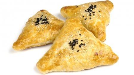 Самса - слоеные пирожки с мясом