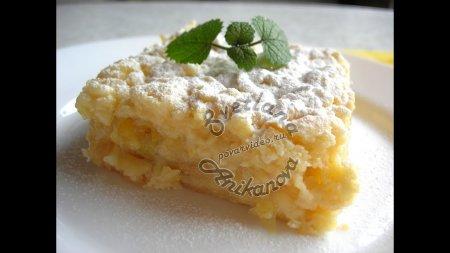 Любимый лимонный торт