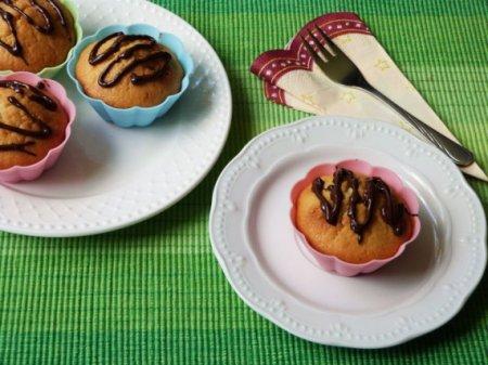 Ванильные кексы с шоколадом