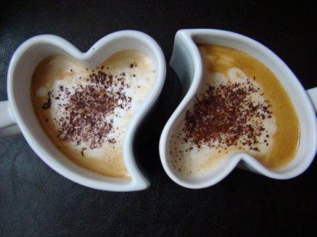 Вкусный кофе с ликером