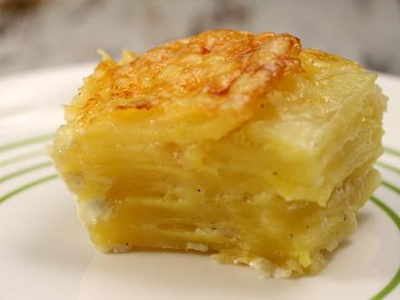 Картофель по-французски с сыром