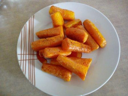 Жареная морковь на гарнир