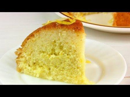 Пирог лимонный в мультиварке Мулинекс