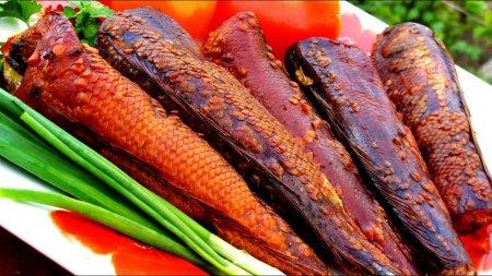 Рецепт горячего копчения рыбы - нототении
