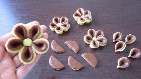 Печенье - цветок