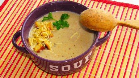 Нежнейший грибной суп-пюре
