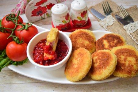 Горячая закуска из хлеба