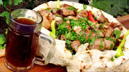 Рецепт шашлыка - маринад на квасе