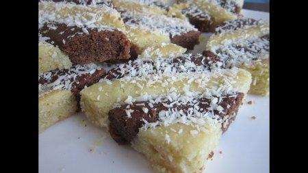 Лимонно - шоколадный пирог