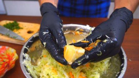 Салат меняющий представление о вкусных салатах из капусты