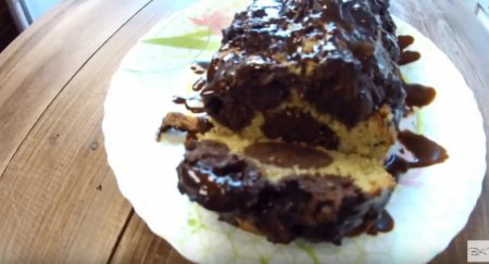 Кекс зебра — мега шоколадный