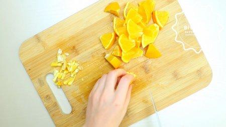 Сочный апельсиновый кекс