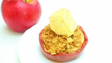 Запеченные яблоки синнабон
