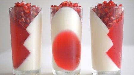 Низкокалорийный йогуртовый десерт