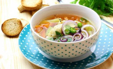 Пряный рыбный суп