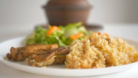 Ленивый обед или ужин в горшочках