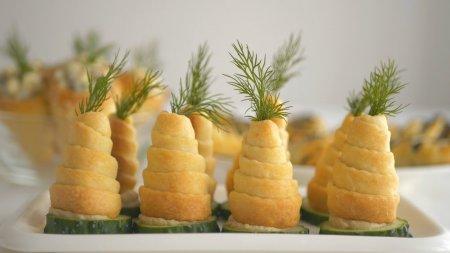 Пирожки закусочные для праздничного стола и фуршета