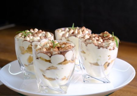 Нежнейший десерт «А-ля Тирамису» с изысканным вкусом из доступных ингредиентов